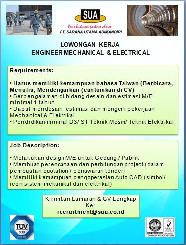 lowongan mandarin Engineer_Sept2016